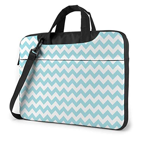 XCNGG Computertasche Umhängetasche Laptop Bag, Black White Stripes Business Briefcase Protective Bag Cover for Ultrabook, MacBook, Asus, Samsung, Sony, Notebook 14 inch