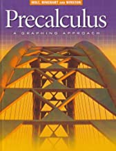 Precalculus, Grade 12 a Graphing Approach: Holt Pre-calculus a Graphing Approach