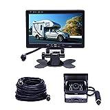 Camecho Vehicle Backup Camera 7' Monitor,18...