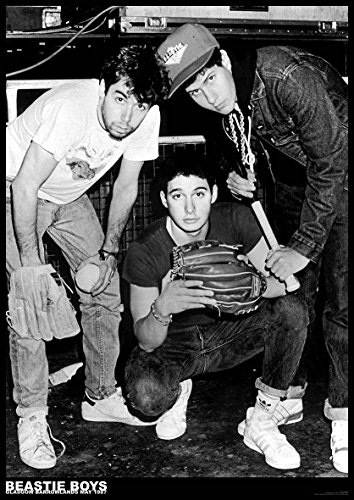 Unbekannt Beastie Boys Poster BARROWLANDS Scotland 1987