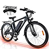 ZNH Electric Bike UL Certified 26'' Bicycle for...