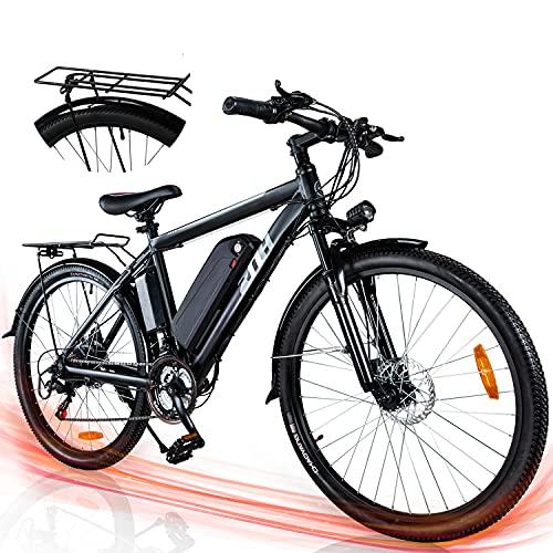 ZNH Electric Bike UL Certified 26'' Bicycle for Adults 350W Electric Commuter Bike/Mountain Bike,...