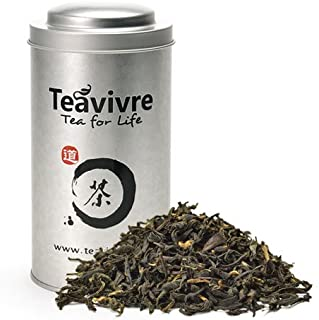 Teavivre Organic Lapsang Souchong Smoky Black Tea Loose Leaf Chinese Tea – 3.5oz / 100g Tin