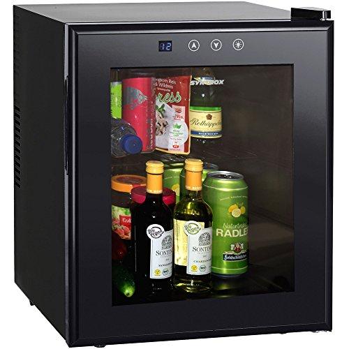 Syntrox Germany Mini Kühlschrank Hotelkühlschrank MBC-50 Glas Frio [Energieklasse A]