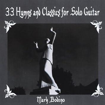 33 Hymns and Classics for Solo Guitar- Spiritual Calm