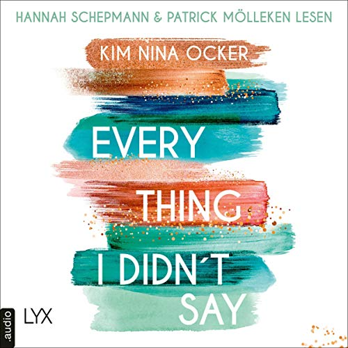 Everything I Didn't Say (German edition) audiobook cover art