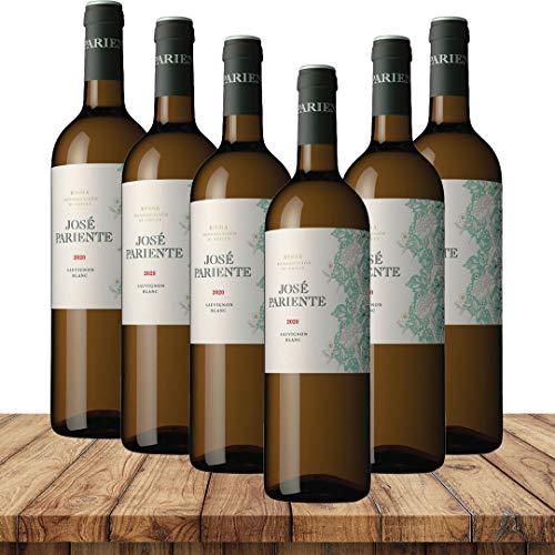 José Pariente Sauvignon Blanc 2020 | Weinpaket Weißweine (6 x 0,75 Liter) | Weißweine aus Spanien
