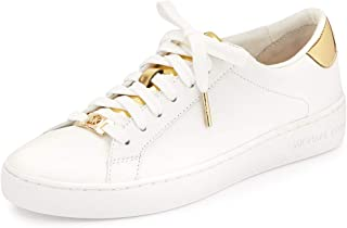 Michael Michael Kors Women's Irving Lace-Up Leather Sneakers