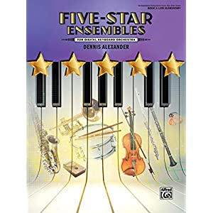 Five-Star Ensembles, Book 2: For Digital Keyboard Orchestra (Orchestrated Selections from Five-star Solos, Band 2)