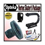 Opteka Deluxe Vortex Skaters Package (Includes The Opteka Platinum Series 37mm 0.2X HD Pan...