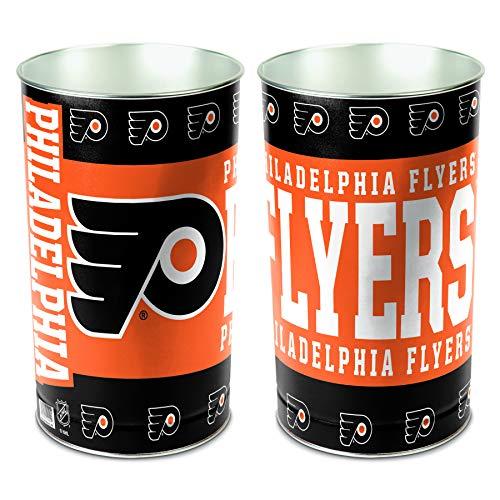 NHL Philadelphia Flyers 15 Waste Basket, Team Color, One Size