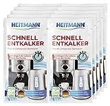 Heitmann Schnell-Entkalker: Natürlicher Universalentkalker für Kaffeemaschinen, Wasserkocher, Eierkocher, 2 x 15 g, 5er Pack