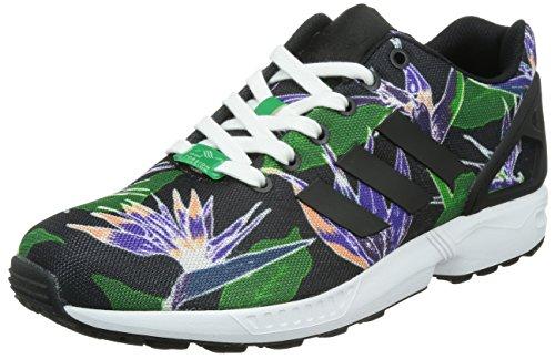 adidas Originals ZX Flux, Zapatillas de Running Hombre, Multicolor (Core Black/Core Black/FTWR White), 46 2/3 EU