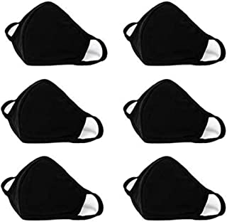 Face Masks – 100% Cotton, Reusable & Washable Adjustable Ear Straps– Protection from Dust, Pollen, Pet Dander, Other Airborne Irritants