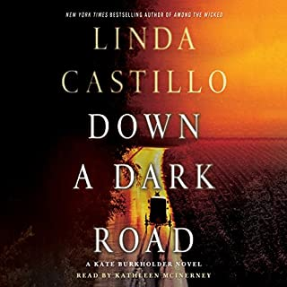 Down a Dark Road audiobook cover art