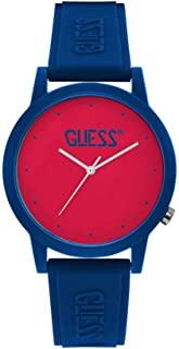 Guess Unisex Adult V1040 Watch Blue