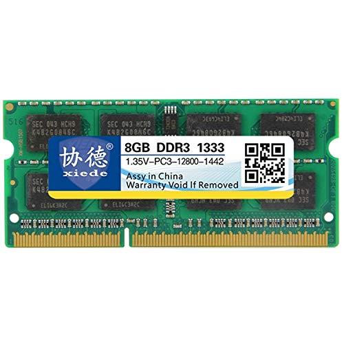 MKOKO DDR3L 1333MHz 8GB 1.35V Allgemeines Vollkompatibilität Speicher RAM-Modul für Laptop schnell Dauerhaft