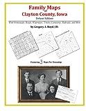 Family Maps of Clayton County, Iowa
