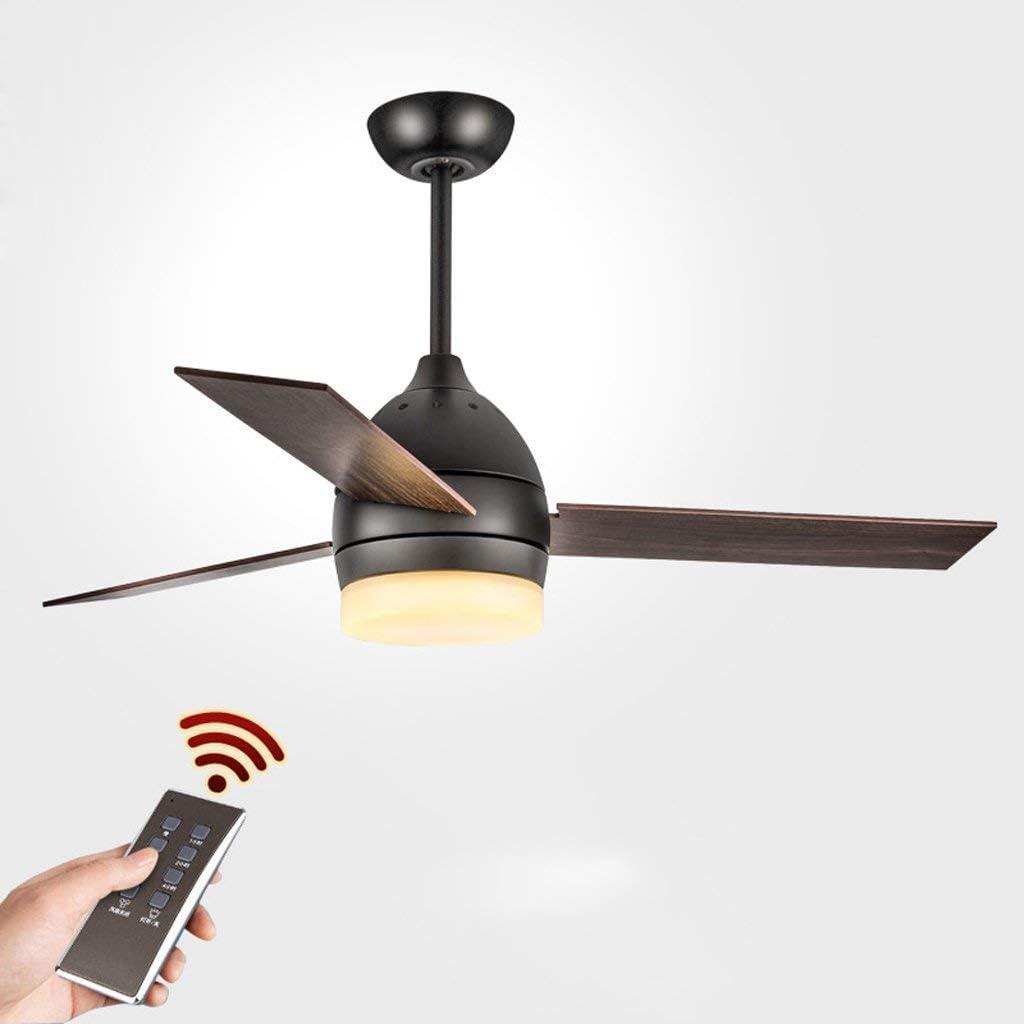 XXLYY con Ventilador de Techo Inicio Lámpara de Ventilador Simple Restaurante Ventilador Americano de Viento Industrial