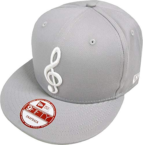 New Era Music Note Gray Snapback Cap Kappe 9fifty Basecap Herren Mens