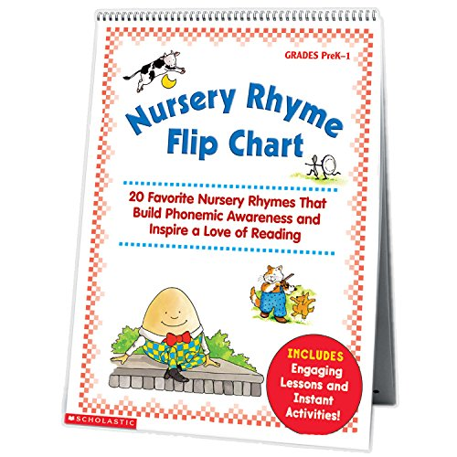 Compare Textbook Prices for Nursery Rhyme Flip Chart: 20 Favorite Nursery Rhymes That Build Phonemic Awareness and Inspire a Love of Reading  ISBN 9780439513821 by Scholastic Inc.,Teaching Resources, Scholastic,Scholastic Inc.,Scholastic