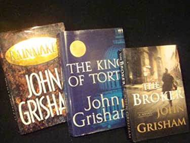 Lot of 3 John Grisham (The Broker, The Rainmaker, The King of Torts)