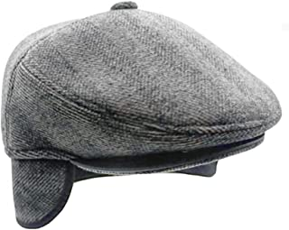 Men's Irish Berets Polyester Wool Velvet Flatcap Ivy Gatsby Newsboy Hunting Hat Gatsby Driver Caps Earflap Hat