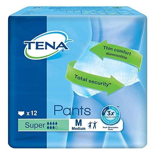 Tena Pants Super Medium für starke Blasenschwäche, 12 Stück
