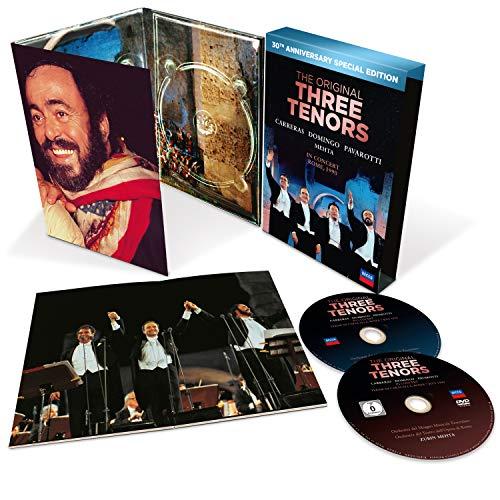 The Three Tenors - 30th Anniversary Version [DVD+CD - Tirage limité]