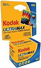 Kodak 603 4078 Ultramax 400 Color Negative Film (ISO 400) 35mm 36 Exposures Carded