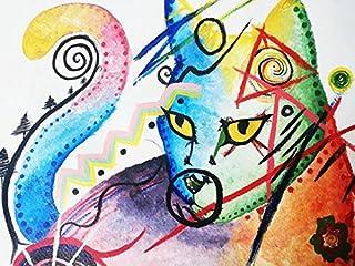 Nino, Pintura acuarela y tinta china sobre papel
