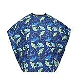 Rekkles Dolphin Impermeable Pelo de los niños del Vestido de Corte del Peluquero Delantal Cabo peluquería Cubre Vestido