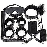 10 Pcs BDSM Leather Sex Bondage Sets Restraint Kits Adult Sex Toys for Women and Couples