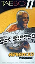 Tae Bo II Get Ripped Advanced Workout VHS by Tae Bo