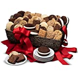 Baked Goods Deluxe Gift Basket - Chocolate Gift of Cookies, Brownies and Whoopie Pies - Kosher Gift