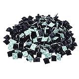 Clips de Cable Adhesivo Abrazadera de Cables para Oficina y Hogar, 200 Piezas