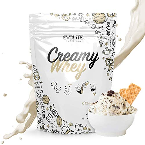 Evolite Nutrition Creamy Whey 700g 23 Porzioni - Polvere Proteica WPC Aggiunta di Buttermilk O