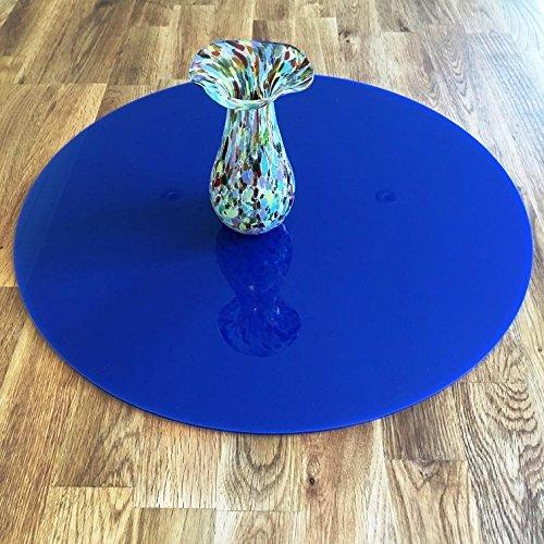 ServeWell Creations - Protezione per Piano di Lavoro, Grande, Diametro 45 cm, Colore: Blu Scuro