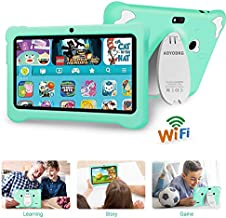 Kids Tablet 7 inch Kids Edition Tablet Quad Core Android 9.0 GO with 3GB RAM + 32GB ROM WiFi,GMS Certified, Educational Tablets for Kids, Bluetooth, Dual Camera- (Light Blue)
