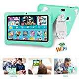 Tablet para Niños con WiFi, Android 9.0 Google Certificación GMS, 7 Pulgadas 3GB RAM +32GB ROM/128GB,Entertainment Educativo Tablet Infantil Quad Core Doble Cámara Tablet para ni?os /Bluetooth