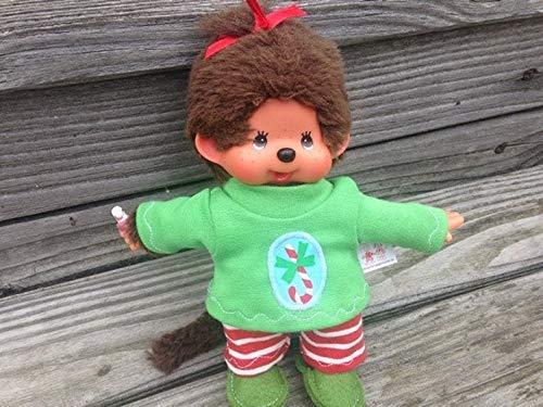 Puppenkleidung handmade passend für MONCHICHI Gr. 20 cm Bekleidung Shirt + Hose + Pantoffeln Kleidung Puppenkleidung Weihnachten