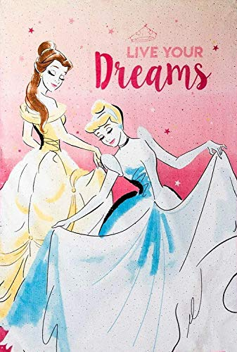 Disney Princess - Manta de Ariel de Sirena de tamaño Doble (62 x 90 Pulgadas)