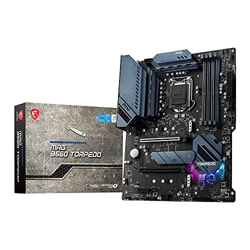 MSI MAG B560 TORPEDO, Scheda Madre Gaming, ATX - Supporta i processori Intel Core di 11ª gen, LGA 1200 - Mystic Light, DDR4 Boost (5066MHz/OC), 2 x PCIe 4.0/3.0 x16, 3 x M.2 Gen4/3, 2.5G + 1G LAN