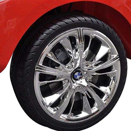 RC Auto kaufen Kinderauto Bild 6: vidaXL Kinderauto mit Fernbedienung Weiß Kinderfahrzeug Elektroauto Cabriolet*