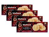 Walkers - Galletas de mantequilla escocesa redondas con mantequilla - 4 x 150 gramos