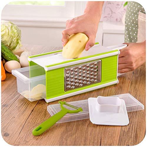 Ralador de Legumes Cortador Multiuso Fatiador Descascador Picador Alimentos