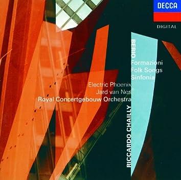 Berio: Formazioni; Folk Songs; Sinfonia