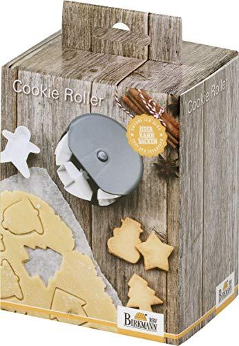 knusper.haus Cookie - Roller/Ausstechformen WEIHNACHTSMOTIVE (8 Motive zum wechseln) MIT Weihnachts REZEPTEN