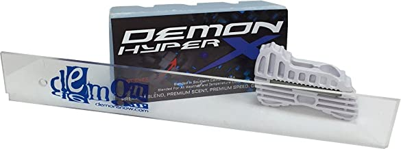 Demon Hyper X Universal 1 LB. Big Block Wax + 14 Inch Wax Scrapper + Edge Tuner
