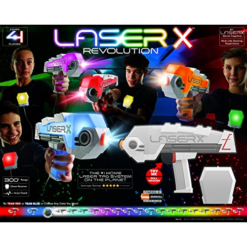 Laser X Revolution 4 Players Set